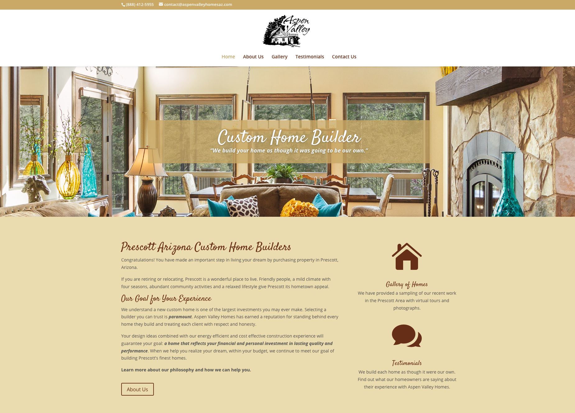 Find Custom Home Builders In Prescott Valley Arizona